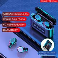 Super mini portátil TWS Bluetooth Auriculares Mini gemelos verdadera Wireless Auriculares Auriculares para iPhone 11 XS máximo teléfonos Android con la caja de carga