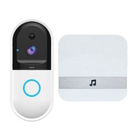 Wireless Wifi Intercom Video Doorbell Camera Set Door Bell C...