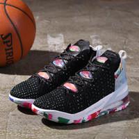 Lybrons 18 James Gang men كرة السلة الأحذية الساخن بيع 2020 lebrons 17 الأحذية الرياضية متجر مع حجم حجم US7-US12