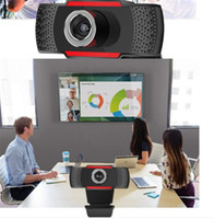 1080P / 720P / 480P 웹캠 USB 컴퓨터 카메라 내장 마이크 회전 가능한 렌즈 노트북 데스크탑 웹캠 카메라에 온라인 라이브 방송