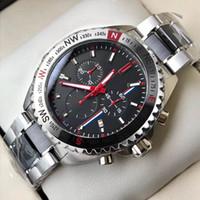 Beste Herren Designer Uhren Chronograph Quarz Bewegung Uhren Montre de Luxe SS Fashion Sports Armbanduhr Relogio Masculino Männliche Uhr Geschenk