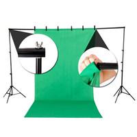 Heavy Duty 10Ft Регулируемой Фотография фон Поддержка Стенд Kit С Case профессиональной фотографией фоном Rack Set