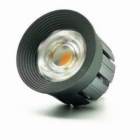 Ultra Bright LED COB Spotlight 7W GU10 Ściemniana żarówka Lampka AC 220 V 110V Lampa światła ciepłe chłodne białe