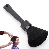 1PC لينة أسود عنق الوجه المنفضة اللحية فرش حلاقة الشعر تنظيف فرشاة الشعر صالون قص تصفيف الشعر التصميم أدوات ماكياج