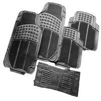 Winsun 5PCS MA 312 PVC sostituzione antiscivolo auto pedale pad nero