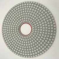 Diamante Polimento Pad de 14 polegadas para o polimento de mármore abrasivo Polimento Roda Granite Engineered Stone Pads 5 mm de espessura