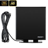 마일스 실내 40 TV 안테나 스탠드 4K 디지털 HD Antena HDTV UHF / VHF / 1080P 스탠드 기반 새로운 도착이있는 3D Long Rang