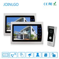 Wired 10. 1 inch Recording Monitor Video Doorbell Door Phone ...