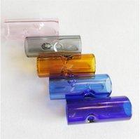 2020 di figura trasparente del bocchino pilastro filtro di vetro Suggerimenti multi colore mini tubo di fumo Popolare 0 6SG G2
