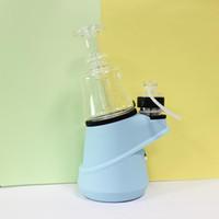 Min.1 Takım SOC Layil Seti Seramik Kuvars Atomizer Balmumu Buharlaştırıcı 2600 mAh TC Kutu Mod Vape Pil Cam Bong H E Tırnak