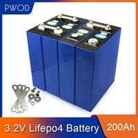 PWOD NEU 16PCS 3.2V 200Ah LiFePO4 Batterie Lithium-Eisen-Phosphat-Zellen-Solar 48V200AH 24V400Ah Zellen nicht 280Ah EU US TAX FREE