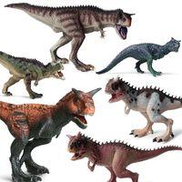 20 Stili Plastic Dinosaur Figures Model Blocks Bricks Bambini Giurassico Simulazione dei bambini Dinosauro Ornamenti Giocattoli Regalo di Natale