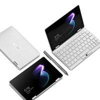 "Laptops One Netbook Mix 3 Tablet PC 8 ""360yoga Notebook IPS Intel Core M3-8100Y 8GB + 256GB Reconhecimento de impressão digital backlit"