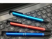 معدن قلم شاشة سعوية ذات حساسية أدوات قلم اللمس مكتب متعدد الوظائف المفتاح قلم حبر جاف VT1680