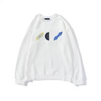 20FW géométrique Floral broderie à capuche Mode pour hommes femmes SWEATSHIRT hiver overs Homme Vêtements Streetwear M-2XL