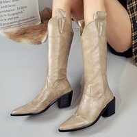 Women Knee High Boots Winter And Autumn Knee High Shoes Big ...