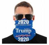 2020 ABD Donald Trump Dikişsiz Boyun Gaiter Kalkanı Eşarp Bandana Yüz Maskeleri UV Koruma Motosiklet Bisiklet Sürme Koşu Bantlar Için