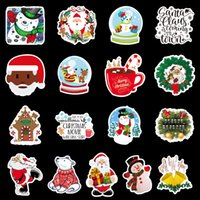PVC print Christmas Halloween 100 unique suitcase graffiti stickers skateboard guitar refrigerator decoration stickers waterproof kids reuse