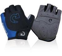 2020 CALIENTE ciclismo y del deporte de la motocicleta guantes de montar unisex medios guantes del dedo equipo de montar al aire libre