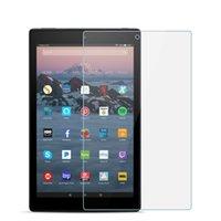 Protectores de pantalla de computadora Vidrio templado para Amazon Fire HD 8 Plus 10 7 Fire7 Protector Kindle Paperwhite 1 2 3 4 Oasis 2021 Echo Show 5 Fi