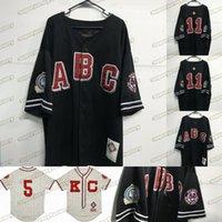 Big Boy NLBM Negro Liquidación de Béisbol Jersey Museo Museo Mujeres Jóvenes S a 3xl Galletas negras Vintage Jersey
