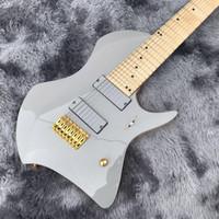 2020 Özel Çok Ölçekli 8 Strings Iban Fanlı Froles Elektro Gitar ile Altın Donanım Akçaağaç Klavye
