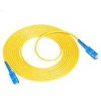 Freeshipping 10PCS 3M SC-SC Fiber Optic Patch Cord SC/UPC SM SX 2.0mm 3.0mm 9/125um FTTH Patch Cables Singlemode Optical Jumper Pigtail