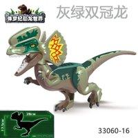 Bloques de construcción de dinosaurios El Jurásico Mundo Granular Tyrannosaurus Rex Tyrannosaurus Rex Park Modelo Modelo Modelo de 6 años de juguete