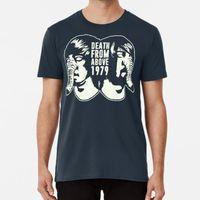 Camisetas de hombres de la muerte desde arriba 1979 (blanco) camiseta de la banda de la banda Alt Rock Metal Bass