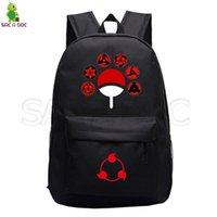 جديد Naruto-Anime حقيبة ظهر أسود أنيمي حقائب أطفال بنين بنات حقيبة مدرسية السفر المحمول Daypack حقيبة مدرسية حقيبة SAC A DOS C0927