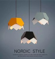 New Nordic minimalist creative pendant lamps dining room chandelier coffee shop office children's room morning classroom macaron lamps
