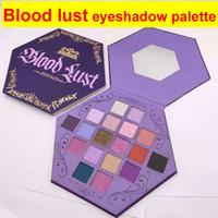Yeni Beş Yıldızlı Mor Kan Şifresi Göz Farı Artistry Paleti Makyaj 18 Renk Göz Farı Paleti Paleti Pırıltı Mat Yüksek Kalite