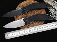 ZT Tolérance zéro 0357 ZT0357 8Cr18MoV Roulement à billes Pierre Lavé G10 poignée Flipper Couteau de poche pliable Noël Couteaux cadeaux A3049