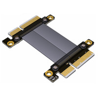 PCIe 3.0 x4 para x4 macho para macho cabo 32G / bps PCI-E 4x GTX1080Ti Gráficos SSD RAID Extender Cabo de Conversão