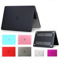 Case portable mat Pour 2020 Nouveau Macbook Pro 16 pouces A2141 couverture pour macbook air 13,3 15,4 Retina Touch Bar Cases