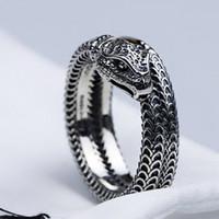 Frauen Männer Schlange-Finger-Ring mit Stempeln Tier-Schlange-Ring für Geschenk-Partei-Qualitäts-Schmuck Accessoires