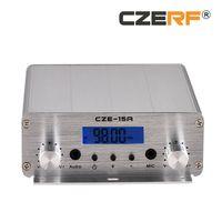 CZE-15A 2W / 15W FM Transmitter Set 88MHz ~ 108MHz Long Range FM Exciter Für FM Radio Station Broadcast Driver-in-Cinema-Treiber-in-Kirche
