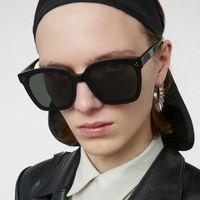 2020 Yeni GM Güneş Klasik Kadınlar Nazik Canavar Kare Kare Güneş UV400 Vintage Lady Marka Tasarımcı Güneş Dreamer 17 T200511 gözlük