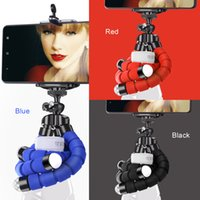 Mobile Phone Holder Flexible Octopus Tripod Bracket For Mobi...