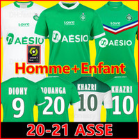 20 21 maillot ASSE Soccer Jersey 2020 2021 BOUANGA AS ETIENN...