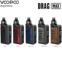 VOOPOO Trascinare Max Kit 177W Box MOD doppio 18650 4,5 ml PnP Pod adatta Cigarette PnP-VM5 VM6 PnP centraline elettroniche vaporizzatore Authentic