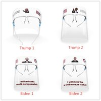 Trump Biden Transparent Face Shield With Glasses Frame Anti ...