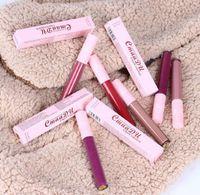 Pas CmaaDu 6 couleurs Pudaier Brillant à lèvres liquide imperméable métallisé mat rouge à lèvres pour le maquillage des lèvres Long Lasting Matte Nu brillant Lipgloss Cosm