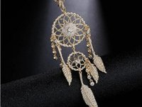 2020 new European and American fashion dream net gold necklace, clavicle chain, leaf Tassel Necklace W326