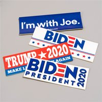 10pcs lot trump car stickers Biden for USA America president...
