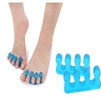 Manicure pedicure chiodi separatore dita separatore flessibile del dito del dito spacciatore Strumento di separazione Strumento DA813