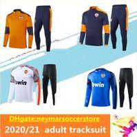 20 21 Valência FC Soccer Tracksuit PAREJO GAMEIRO CHANDAL 2020-21 Valência Entrenamiento Jogging Maillot de Football Training Suit
