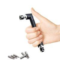 L-образный мини с двойной головкой торцевых ключей Подходит для рутинного отверток Биты Подсобные инструментов Набор гаечных ключей трещоток