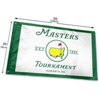 الماجستير PGA جولف العلم الرياضي مع تصحيح 90x150cm إرسال أعلام 100D البوليستر الطباعة الرقمية ذات نوعية جيدة 5x3ft كاملة