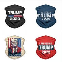 2020 أقنعة ترامب الرئيس المثلث السحري وشاح الولايات باندانا ترامب انتخابات متعددة الوظائف الرياضة دراجات أنبوبي أغطية الرأس الوجه DDA401